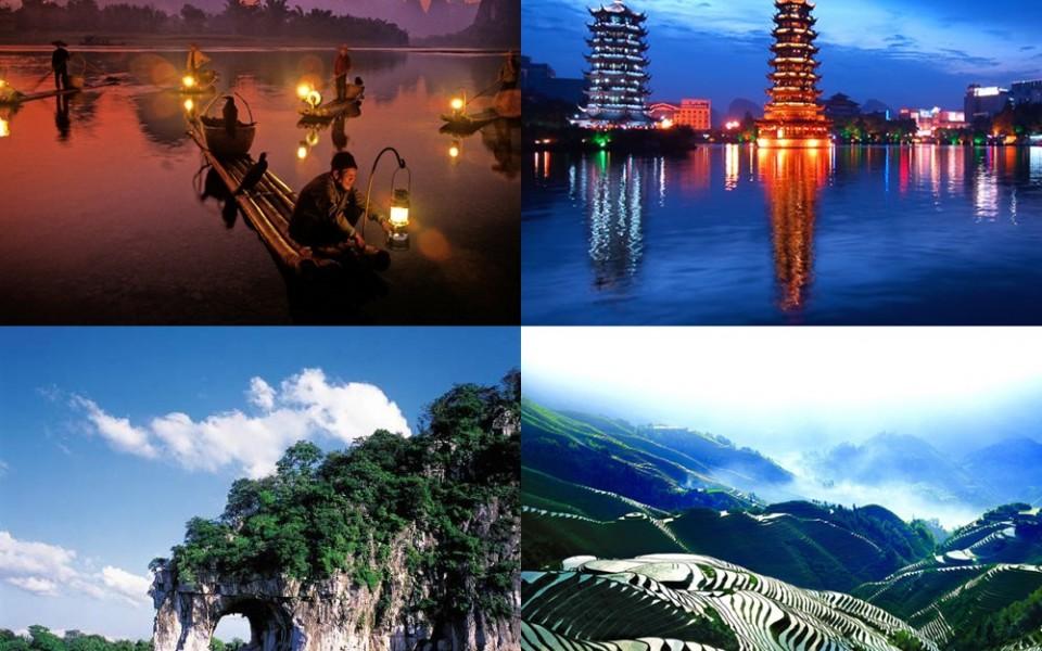 กวางเจา-กุ้ยหลิน-หยางซั่ว-ล่องเรือแม่น้ำหลีเจียง