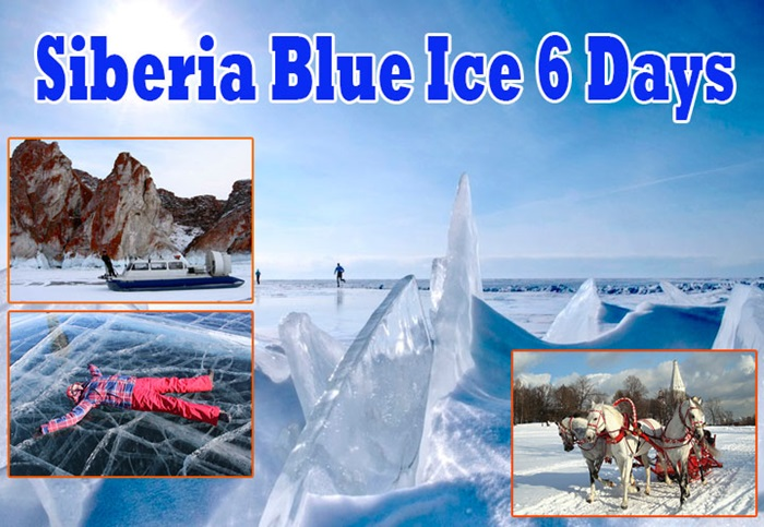 SIBERIA BLUE ICE