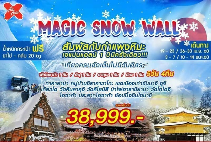 MAGIC SNOW WALL