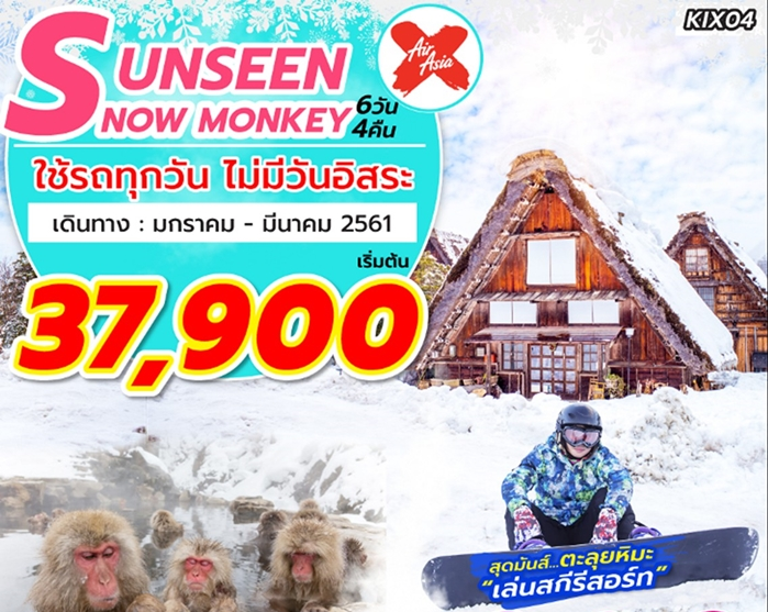 UNSEEN SNOW MONKEY