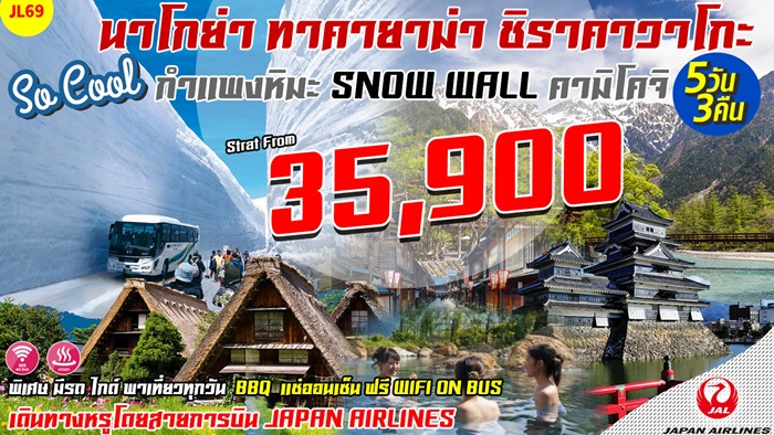 Takayama Snow Wall