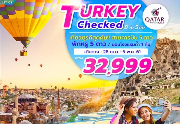 TURKEY CHECKED