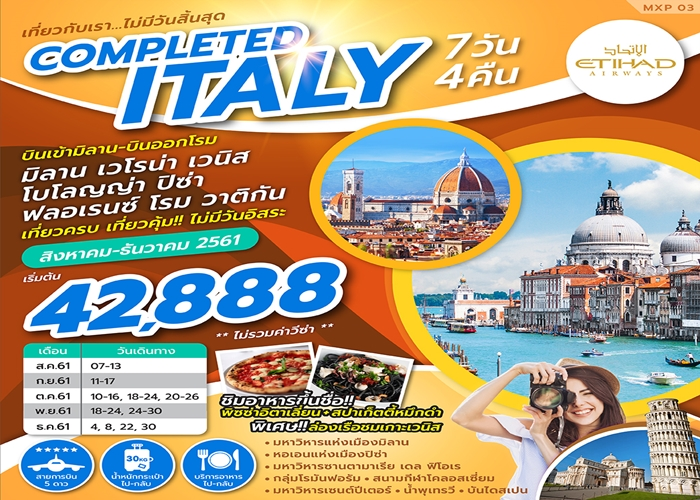 COMPLETED ITALY