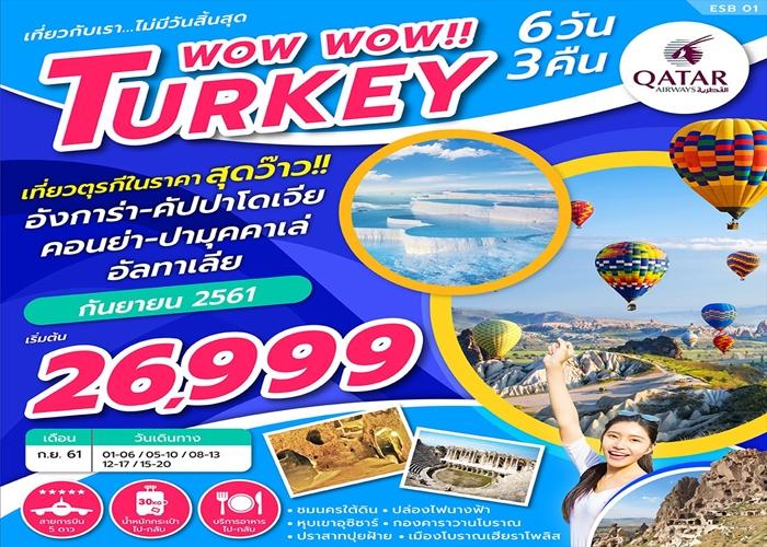 TURKEY WOW WOW