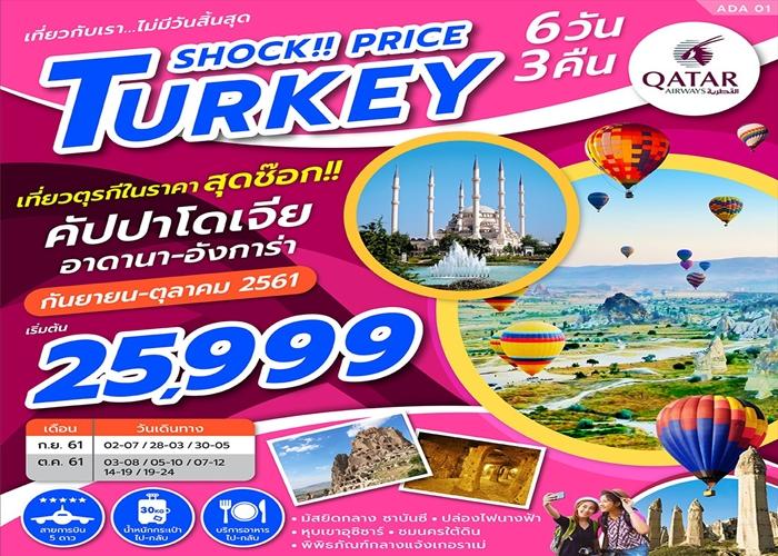 TURKEY SHOCK PRICE