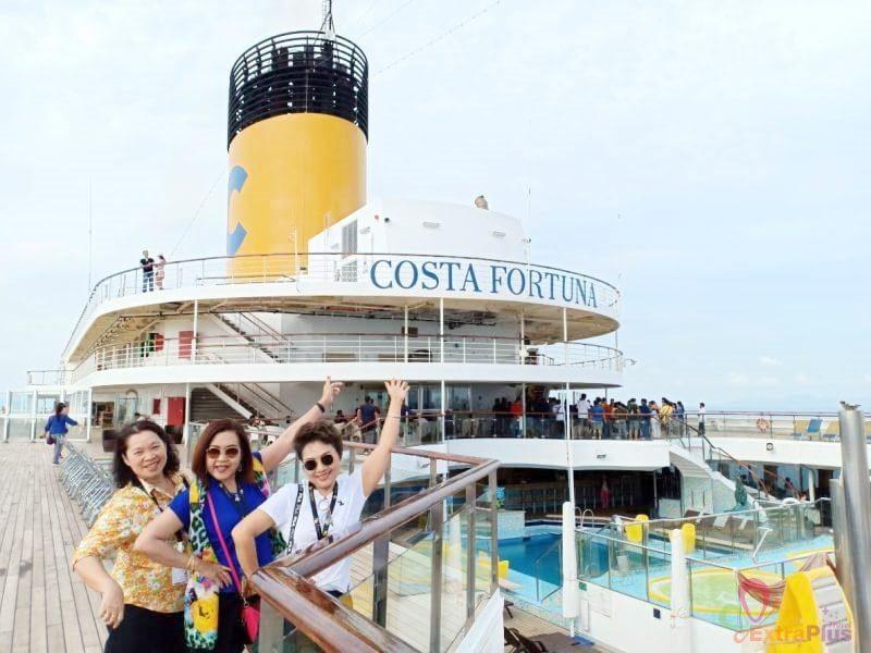 ล่องเรือสำราญ COSTA FORTUNA