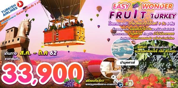 EASY WONDER FRUIT TURKEY