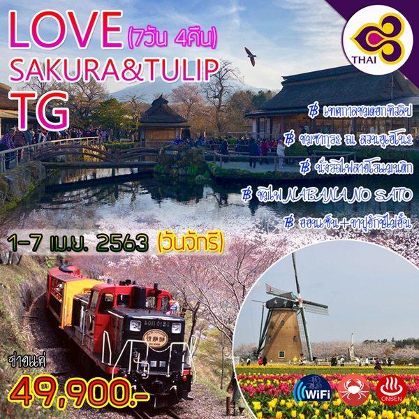 LOVE SAKURA&TULIP TG