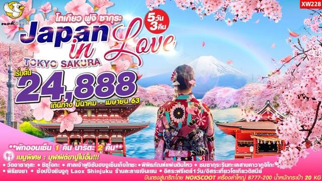 Japan in Love โตเกียว ฟูจิ ชิซุโอกะ ซากุระ